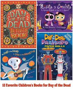13 Favorite Children's Books for #DayoftheDead #DíadelosMuertos