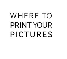 A list of photography labs to print at any level! Hobbyist and Professional Level.