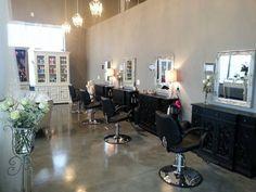 Shabby chic salon - beautiful
