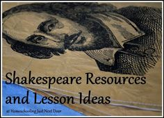 Resources and Lesson Ideas - Shakespeare