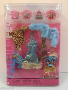 Fashion Fever Gold Boots Turquoise Leopard Clothing Cool Fur Wrap J1375 | eBay