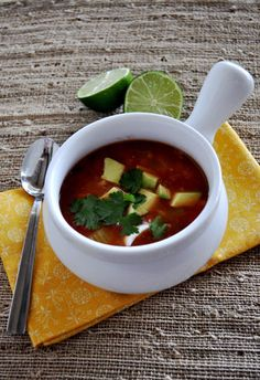 Mexican Veggie Soup