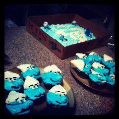 Smurf birthday