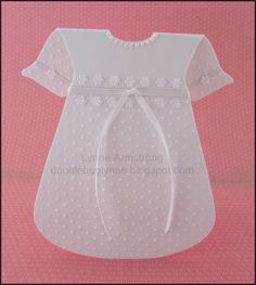 Christening Dress Card...with file - Make The Cut! Forum