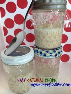 Easy Refrigerator Oatmeal Recipe