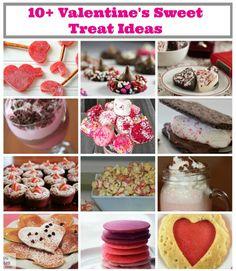 10+ Valentine's Day Sweet Treats Recipes #vday #valentines #recipes