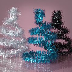 A cute (and easy) #NYE #decor idea made out of sparkly pipe cleaners!