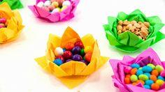 napkins, flower baskets, paper napkin, napkin flower, paper flowers, napkin fold, papers, paper crafts, lotus flower