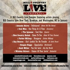 Hill Country Live: Hill Country Live January 2014 Sampler
