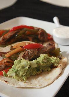 FAJITAS    Mexican food Comida Mexicana