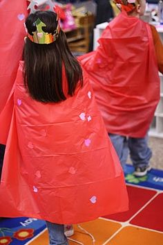Capes and Crowns for fairy tale unit