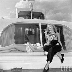 Showgirls in Florida 1947 via Johanna Ost via LIFE archives