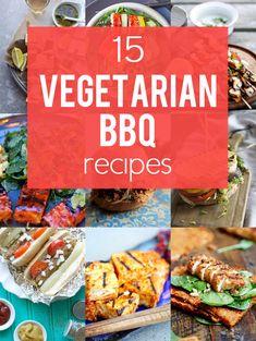 15 Ways to Make Your Favorite BBQ Dish Vegetarian #MeatlessMonday