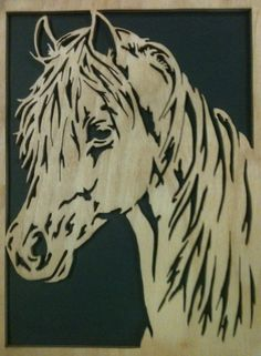 Free Horse Scroll Saw Patterns | Horse Scrollsaw Fretwork Portrait Cutting | Mike Fehrings Artistry In ...