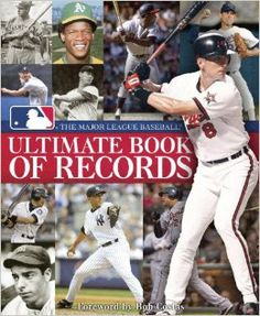 The Major League Baseball Ultimate Book of Records: An Official MLB Publication $30.00 The Major League Baseball Ultimate Book of Records catalogs the game's most remarkable achievements, as well as some of the less traditional and quirky stats that all play a part in the game.