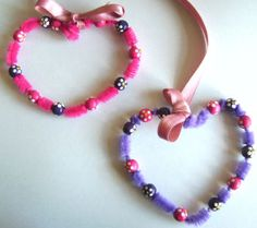 Welcome: Art ~ Pipe Cleaner Crafts