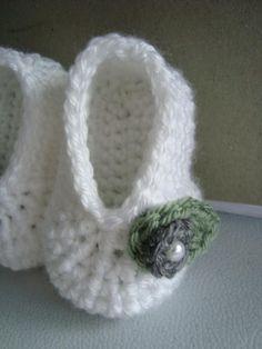 Crochet Bootie Pattern free