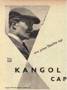 1953 Kangol Cap Advert