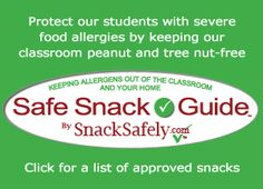 Tools for Schools - Resources to help teachers, school nurses, principals and PTAs implement nut-free policies