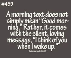 'Good Morning Sunshine'
