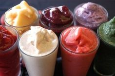 Who says Diets have to be boring and tasteless --These shakes  look so tasty right?!?!  The Body by Vi comes in one flavor but by adding 2-3 items mixed in you can make these!  Join me today & I will share with you over 300 recipes -     http://sheshult.myvi.net/