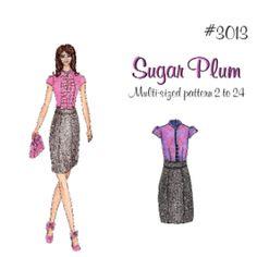 Debuting Sugar Plum! Love this pattern!!