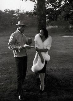 Michelangelo Antonioni   fur   park   script   set   actress   director   dusk  
