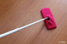 How to Create a Homemade Swiffer Using Chenille Socks