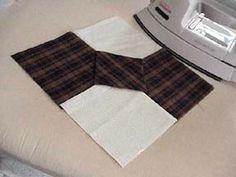 Dimensional bow tie block Tutorial