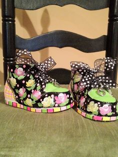 Custom Hand Painted Baby Shoes. $49.00, via Etsy.