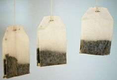 Use a Tea Bag to Freshen Small Spaces