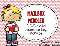 Free - Mailbox Middles: A Valentine CVC Activity