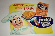 Jack's Cheese Twists display