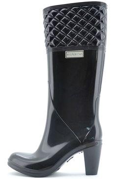 Botas de lluvia con tacón