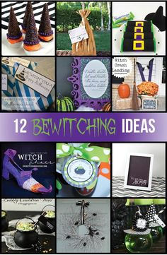 Witch's Brew: Halloween Gift Ideas & Martha Stewart Halloween Craft Giveaway! - Crazy Little Projects