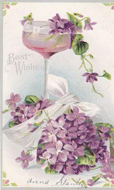 beautiful vintage post card