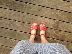 Saltwater sandals.