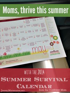 Summer can kick off with a bang, but quickly become grounds for boredom for kids. Rather then flipping on the TV or increasing screen time, allow the Summer Survival Calendar to keep your kids engaged and happy all summer long.