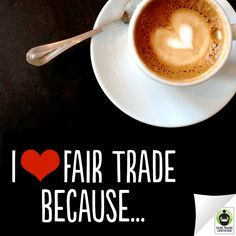 We <3 #FairTrade, do you? Spread some #ValentinesDay love by telling us why in a comment below – we can't wait to hear your responses!