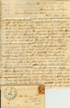 100 Antique Civil War letters!! Antique Civil War letters up for grabs at our E-bay page- http://www.ebay.com/itm/Letter-Lot-100-Gibbs-Smith-Gustavus-Ohio-Civil-War-Period-Amazing-/130949887149?pt=LH_DefaultDomain_0=item1e7d38b4ad