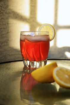 Ginger Cranberry Whiskey Sour