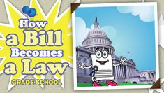 Easy explanation of how a bill becomes a law #government #law #howalawispassed #howabillbecomesalaw #imjustabill #houseofrepresentatives