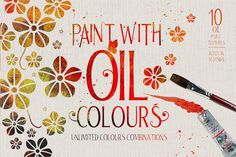 Oil Paint Effect by DesignSomething on Creative Market
