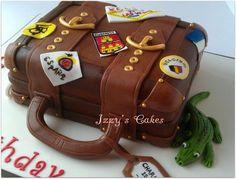 Suitcase Cake  Cake by izzyscakes