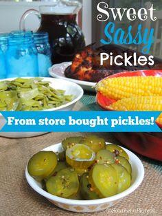 Sweet Sassy Pickles