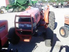 Kubota L4630 tractor salvaged for used parts. Call 877-530-4430 for the best used ag parts. http://www.TractorPartsASAP.com