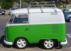 Mini VW! This little camper is amazing!
