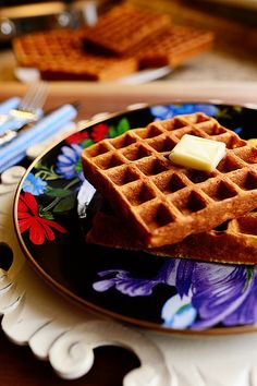 Waffles by Ree Drummond / The Pioneer Woman @Irina Avrutova Avrutova Dasani Drummond | The Pioneer Woman