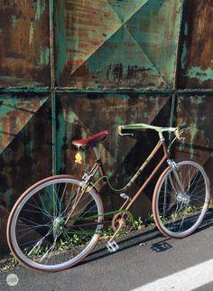 Tumblr fbfactory | LaBici di AnnaChiara  #brooks #nisi #KMC #DiaCompe #BLB #UmbertoDei #Ruggine #rust+green #fbfactoryConcept