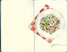 Italy Sketchbook by Lisa Perrin